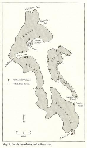 Skagit tribe villages around Penn Cove Whidbey Richard White book