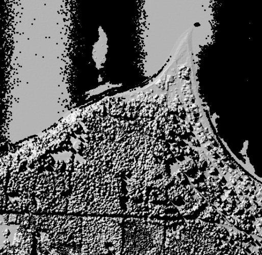 Puget Sound LIDAR Consortium 2005 and earlier top surface 6-foot grids hillshade
