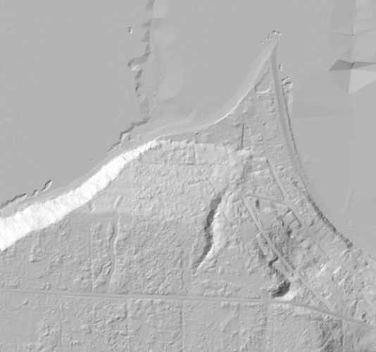 Puget Sound LIDAR Consortium bare earth 2005 and earlier 6 foot grids Coupeville Long Point