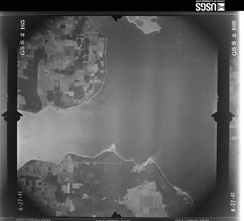 1941-06-27 US Geological Survey aerial photo of Long Point and Coupeville