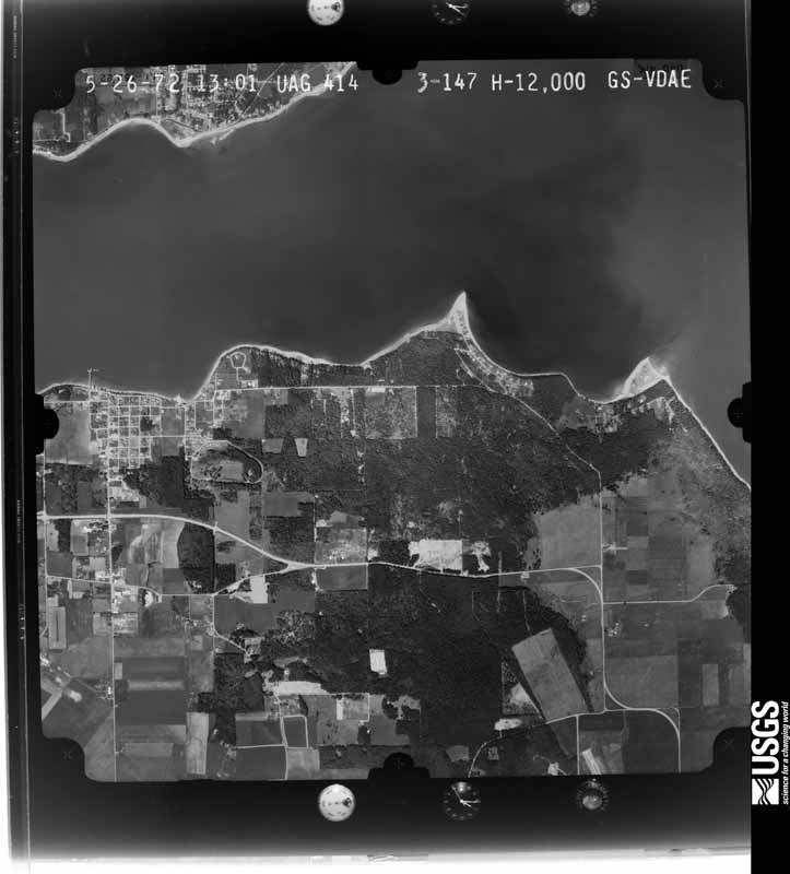 1972-05-26 US Geological Survey aerial photo of Long Point and Coupeville
