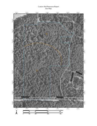 NRCS Soil Resource Report Soil Map