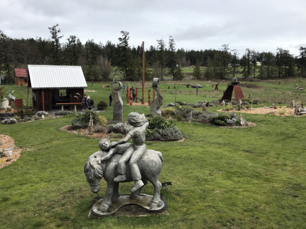 San Juan Islands Sculpture Park Roche Harbor