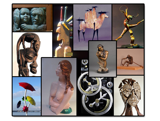 Pacific Northwest Sculptors example sculptures