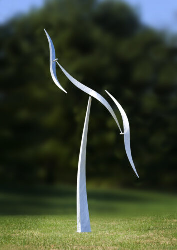 Wind Shear early prototype by Jeff Kahn at Price Sculpture Forest park