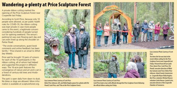 Whidbey Weekly Wandering a-plenty at Price Sculpture Forest article