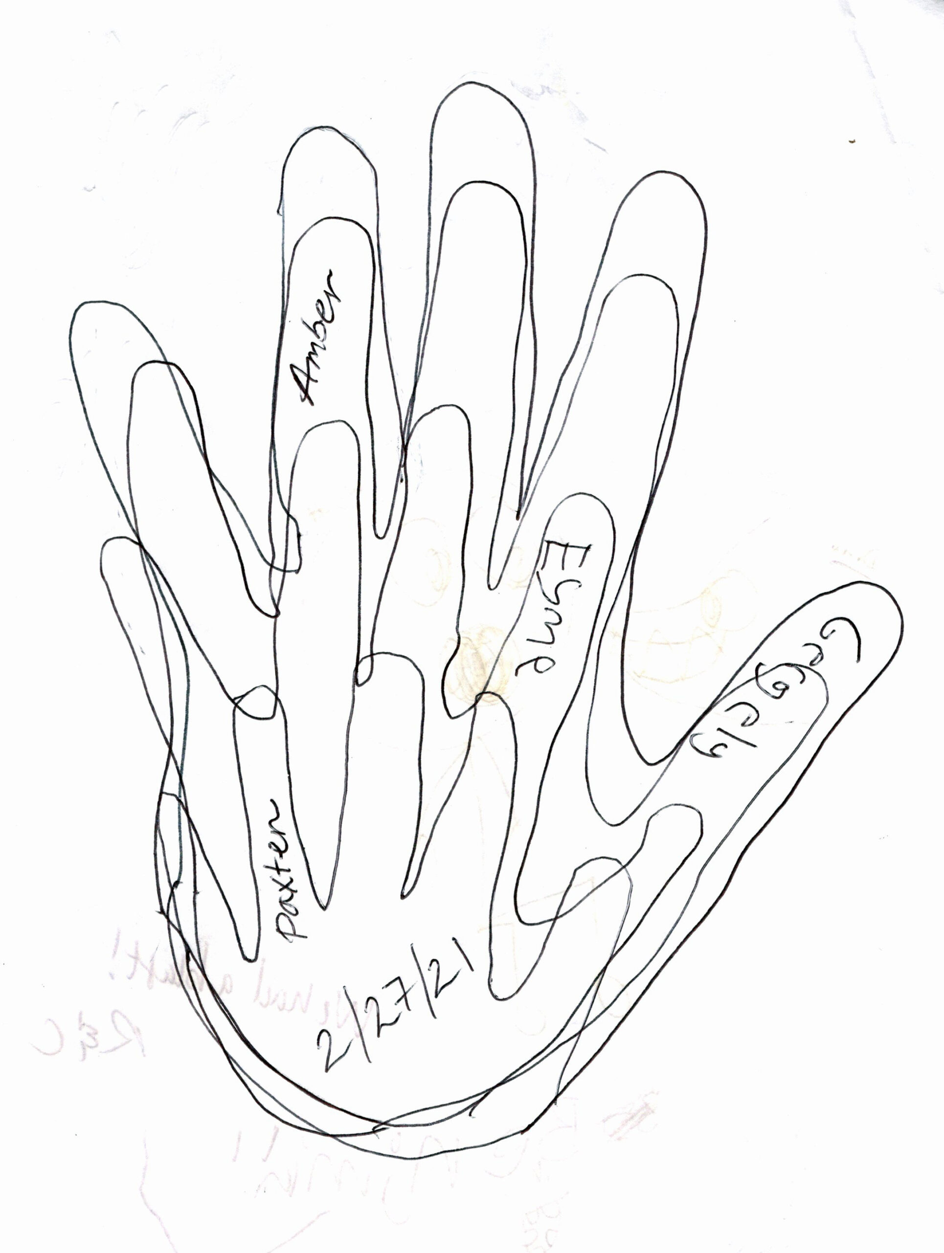 All sizes of hands