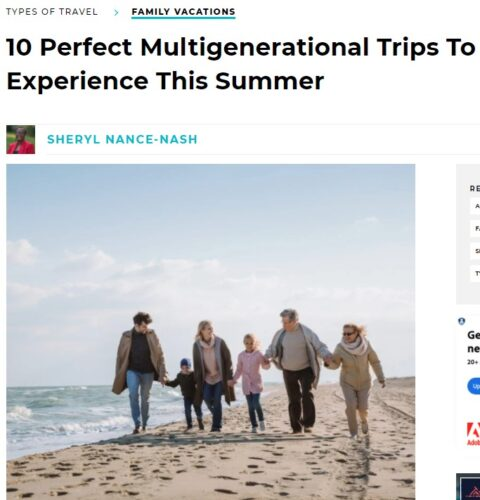 TravelAwaits 10 Perfect Multigenerational Trips To Experience This Summer article intro including Price Sculpture Forest