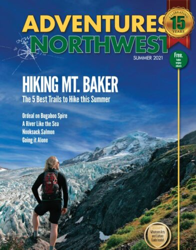 Northwest Adventures magazine Wander in Wonder at Price Sculpture Forest summer 2021 edition cover