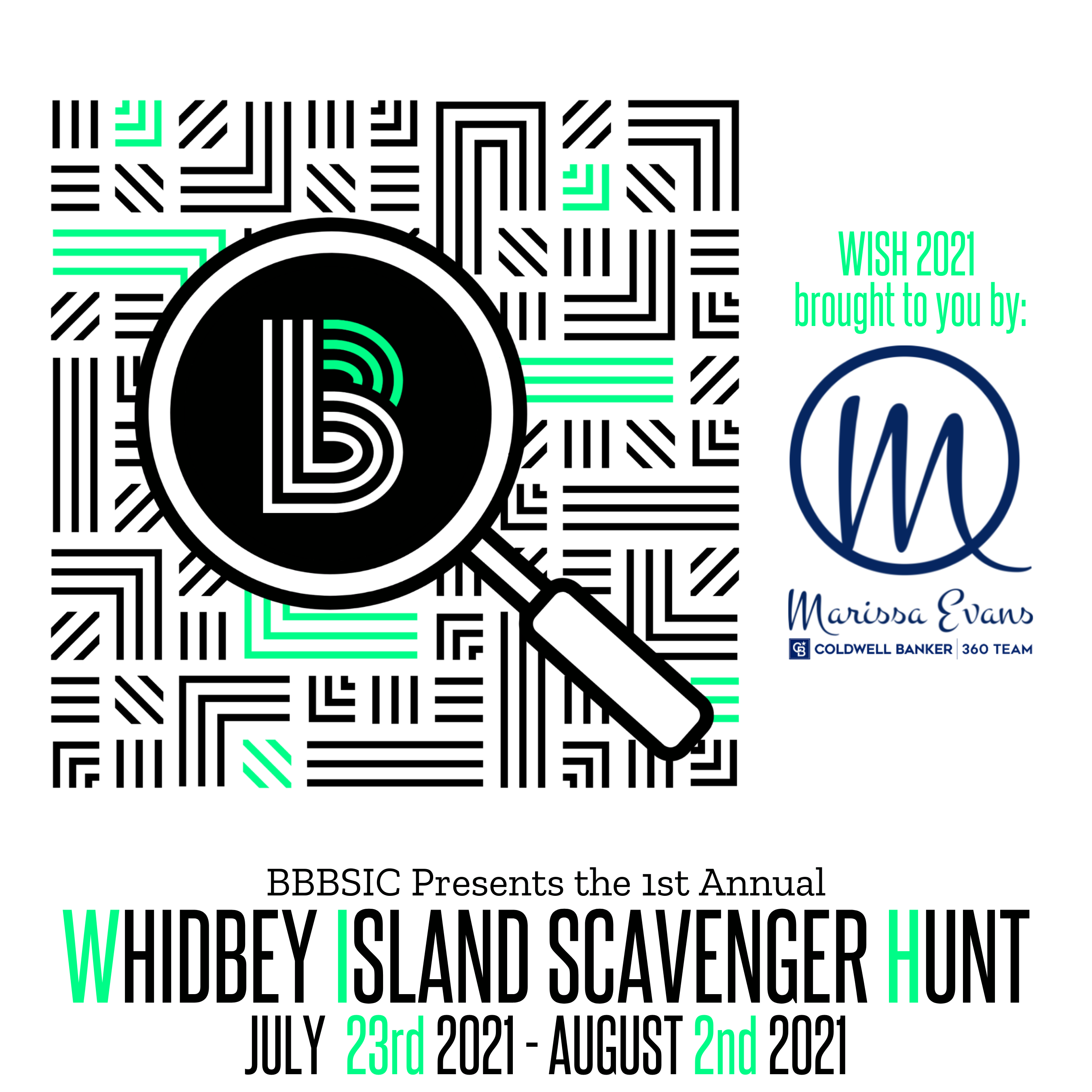 Big Brothers Big Sisters of Island County Whidbey Island Scavenger Hunt 2021
